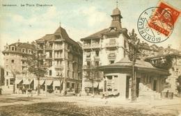 Lausanne - La Place Chauderon - VD Vaud
