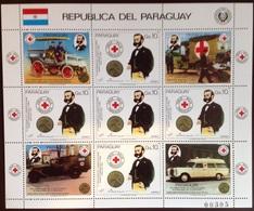 Paraguay 1985 Red Cross Sheetlet MNH - Paraguay