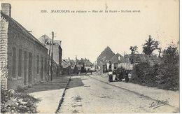 Marcoing En Ruines - Rue De La Gare - Station Street - Marcoing