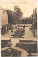 Cul-des-Sarts NA7: Château De M. Philippe. La Cour Et Vue Sur Le Parc - Cul-des-Sarts