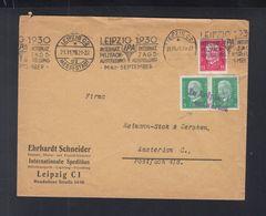 Dt. Reich  Brief 1929 Nach Amsterdam In Leipzig C2 Entwertet - Deutschland