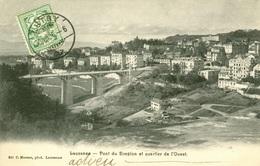 Lausanne - Pont Du Simplon Et Quartier De L'Ouest - VD Vaud