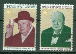 Penrhyn Is: 1974   Churchill Birth Centenary  Used - Penrhyn