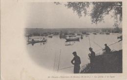 Carrières Saint-Denis 78 - Carrières Sur Seine - Ile Fleurie - Pêche à La Ligne - Carrières-sur-Seine