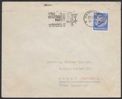 25 Pfennig Hindenburg 1938 Einzelfrankatur Nach Malmö/Schweden  (20427 - Alemania