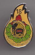 Pin's Sapeurs Pompiers Créon   Réf 8331 - Firemen