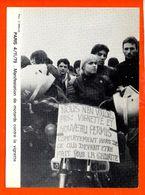 Evénement - Manifestation De Motards Contre La Vignette - Paris 4/11/79 - Tirage à 1000 Exemplaires N°238 - Manifestations