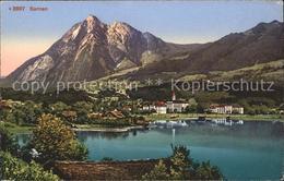 11749766 Sarnen Mit Sarnersee Und Pilatus Sarnen - OW Obwalden