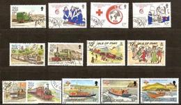 Île De Man 1989-1991  Yvertn°  Entre 414 Et 497  (°) Oblitéré Used Cote 14,65 Euro  Divers - Man (Ile De)
