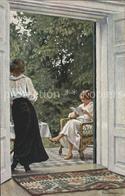 11740392 Fischer Paul Sommerzeit Nr. 110  Kuenstlerkarte - Künstlerkarten