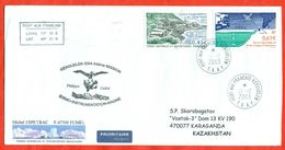 TAAF 2003. Espace. Envelopes Past The Mail. - French Southern And Antarctic Territories (TAAF)