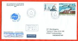 TAAF 2003. Study Of Antarctica. Envelopes Past The Mail. - French Southern And Antarctic Territories (TAAF)