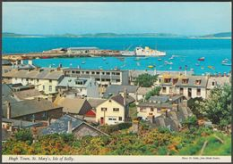 Hugh Town, St Mary's, Isles Of Scilly, C.1970s - John Hinde Postcard - Scilly Isles