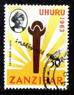 ZANZIBAR 1964 - From Set Used - Zanzibar (1963-1968)