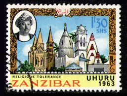 ZANZIBAR 1963 - From Set Used - Zanzibar (1963-1968)