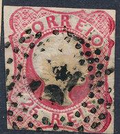 Stamp Portugal 1858 25r Used Lot50 - 1855-1858 : D.Pedro V