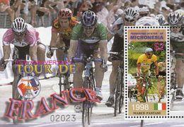 Micronesia .2003. Sport. Cycling.100  Jr.Tour De France. Michel. Bl.121  MNH.25538 - Francobolli