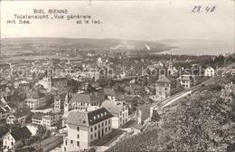 11756392 Biel Bienne Totalansicht Mit Bielersee Biel - Zonder Classificatie