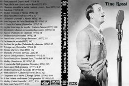 DVD TINO ROSSI - Concert Et Musique