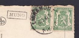 N° 425 / Carte GRIFFE MUNO - 1935-1949 Petit Sceau De L'Etat