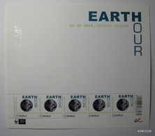 Earth Hour Sheet Of 5 Stamps. Skyline And Other Feect Visible Under Special Light. MNH SG: 4565 - Bloques 1962-....