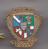 Pin's Ecusson Blason Cozes En Charente Maritime Dpt 17  Réf 8355 - Cities