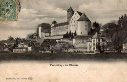 CPA Porrentruy Le Château - JU Jura
