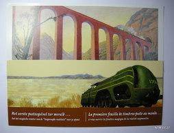 BELGIUM 2014 De Wereld Van De Trein - The World Of Train MS MHN - Blokken 1962-....