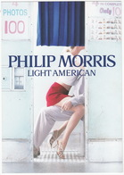 PHILIP MORRIS Light American (Cigarettes) - Living Packs Limited Edition - Reclame