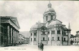 Como. Duomo E Teatro Sociale  - Lot.1869 - Como