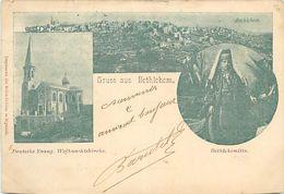 PIE-R-18-1313 : GRUSS AUS  BETHELEEM. - Palestine