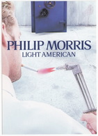PHILIP MORRIS Light American (Cigarettes) - Living Packs Limited Edition (2) - Reclame