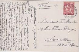 LEVANT 1905 CARTE POSTAL DE CONSTANTINOPLE - Levant (1885-1946)
