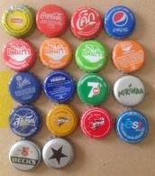 18 Vietnam Viet Nam Thailand Myanmar Bottle Cap Caps Kronkorken / Capsule / Chapa / Tappi - Soda