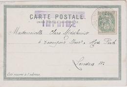 LEVANT 1904 CARTE POSTALE DE CONSTANTINOPLE - Briefe U. Dokumente