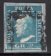 1859 Sassone Nº 6 , Michel Nº 3 - Sicile