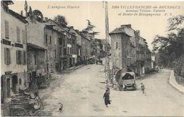 12. VILLEFRANCHE DE ROUERGUE.   AVENUE VEZIAN VALETTE - Villefranche De Rouergue