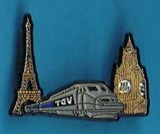 PIN'S //   ** TGV NORD ** PARIS / LONDRES ** - TGV
