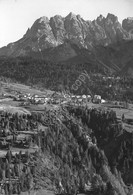 Cartolina Lorenzago Cadore Panorama E Gruppo Miaron 1951 - Treviso