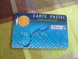 Télécarte Pastel Internationale - Frankrijk