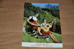 2243-  Alpenklang-duo Paula Rangger Und Elfriede Kòfler - Musik