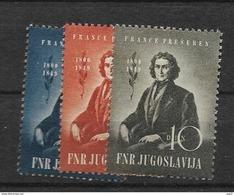 1949 MNH Joegoslavië, Postfris** - 1945-1992 Socialistische Federale Republiek Joegoslavië
