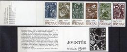 Føroyar 1984; Booklet Ævintýr (Folk Tales).** (MNH) - Isole Faroer