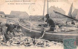 ¤¤  -  ILES SAINT-PIERRE Et MIQUELON  -  La Morue  -  Retour De Pêche Sur La Cote   -  ¤¤ - Saint-Pierre-et-Miquelon