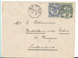 Qld020/ Australien, Brisbane In Die Schweiz 1907 - Briefe U. Dokumente