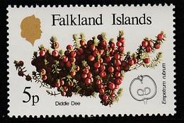 Falkland Islands 1983 Native Fruits 5 P Multicolored SW 397 ** MNH - Falklandinseln