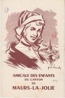 MENU 1957 - BANQUET De L'AMICALE DES ENFANTS DU CANTON De MAURS LA JOLIE - Menus