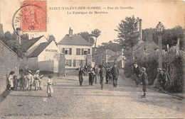 80-SAINT-VALERY-SUR-SOMME- RUE DE NEUVILLE- LA FABRIQUE DE MEUBLES - Saint Valery Sur Somme