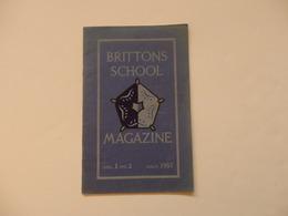 Magazine De 27 Pages De La Brittons School De July 1957. - Books, Magazines, Comics