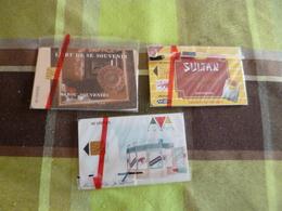 Lot 3 Télécartes Maroc Sous Bister - Maroc
